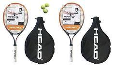 2 x Head Radical Andy Murray 25 Junior Tennis Racket + 3 Balls RRP ?95 by HEAD. 2 x Head Radical Andy Murray 25 Junior Tennis Racket + 3 Balls RRP ?95.