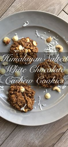 Salty and sweet, chewy yet crunchy and oozing with white chocolate each bite. Subtle hints of peanut butter and coconut in the background made this cookie just absolutely perfect.Guilt-free Sweet Treats — Kraving Health