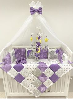 Baby Crib Bedding, Baby Pillows, Baby Bedroom, Baby Room Decor, Baby Quilt Tutorials, Baby Sewing Projects, Dora, Baby Furniture, Baby Design