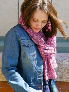 Transfix Scarf Free Knitting Pattern