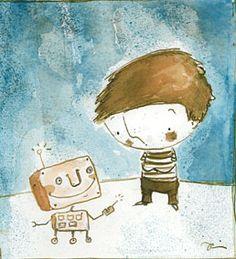 Artista Blog: Robot