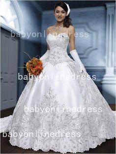 26ed745ca56 2014 Hor Sale Vestido De Noiva Sexy Sweetheart A-Line Wedding Dresses