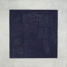 Black Square - Kazimir MalevichArtist: Kazimir Malevich Completion Date: 1915 Style: Suprematism Genre: abstract painting Technique: oil Material: canvas Dimensions: 106 x 106 cm Gallery: Russian Museum, St. Black Square Painting, Famous Abstract Artists, Monochrome Painting, Kazimir Malevich, Russian Avant Garde, Black White Art, Paul Gauguin, Jackson Pollock, Art Abstrait