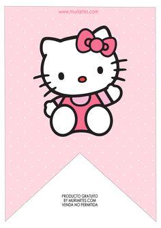 Hello Kitty Theme Party, Hello Kitty Themes, Hello Kitty Birthday, Hello Kitty Rosa, Sanrio Hello Kitty, Hello Kitty Christmas Tree, Anniversaire Hello Kitty, Hello Kitty Imagenes, Kitty Images