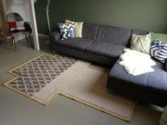 Vandaag dit prachtige vloerkleed laten zien bij mensen thuis. De KARPET GAN-RUGS MANGAS RHOMBUS IVORY : http://bit.ly/1sV5bkC