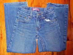 $9.99 OBO Levi's 549 Red Tag Relaxed Straight Kids Sz 7X 21X21 Slim 100% Cotton #Levis #Relaxed #Everyday
