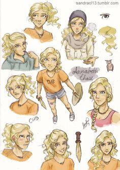 A lot of Annabeth