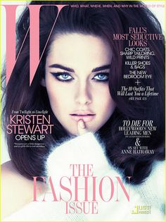 Kristen Stewart Covers 'W' September 2011... Wow she was born in the wrong era.    She looks beautiful on this cover!