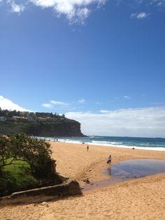 Bilgola Beach in Bilgola Beach, Australia