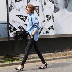 TOMIOKA YOSHIKO OFFICIALさんはInstagramを利用しています:「#outfit #upperhights #theshirtbyupperhights」