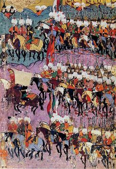 This is the world's most powerful army! They use cannons and gunpowder in battles, they are undefeatable!