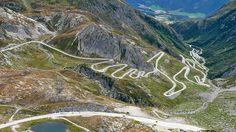 San Gottardo Pass, Switzerland