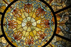 https://flic.kr/p/crxiYG | Stained glass dome in the Grand Army of the Republic Rotunda at the Chicago Cultural Center - Chicago IL | Healy and Millet stained glass dome in the Grand Army of the Republic Rotunda at the Chicago Cultural Center - Chicago IL