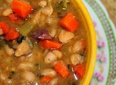Cherish the Ham Bone (Recipe: Slow-cooker Navy Bean Soup)