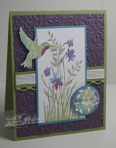 LW Designs: Just Believe  - vintage wallpaper embossing folder, scallop trim border punch