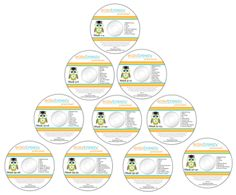 Nationally Recognized Music Program (10 monthly music CD's with over 69 pre-k songs)