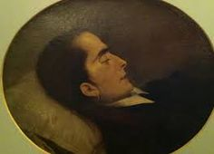 """Pintura de Victor Meireles feita em 1855 chamada """"A morta"""""""