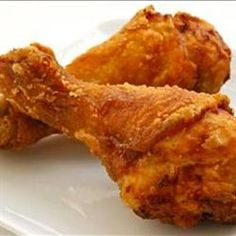This is the best fried chicken recipe I've tried. If you like KFC's original recipe you'll love this. I use boneless skinless breast tenderloins. Chef John's Buttermilk Fried Chicken  Allrecipes.com