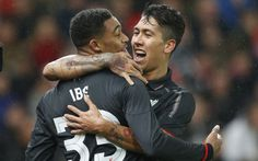 Jordon Ibe gives Liverpool a 1-0 lead after injuries for Philippe Countinho   and Dejan Lovren. Join Charlie Eccleshare for live updates