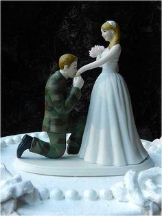 Army wedding topper | Wedding Cake, US Army Cake Topper: Army Wedding Cake Toppers