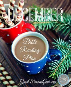 December Bible Reading Plan! Join us!