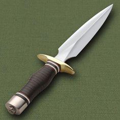 WWII Custom Fighting Knife #survivalknife