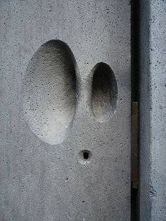 Stone handle detail