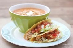 Repeat Crafter Me: Crock Pot Ranch Chicken Tacos