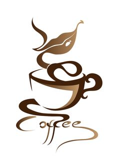 Coffee Mug Wall Decal - Coffee Cup Vinyl Decal - Coffee Shop Decor - Kitchen…
