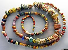 Beads from grave 461. Late 6th/early 7th century