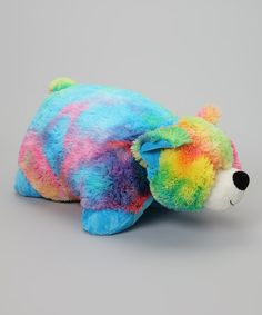 Tie dye pillow pet