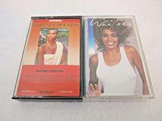 Whitney Houston Music Cassettes Lot of 2 Tapes 1985 & 1987 Tested Whitney Houston, Music, Cover, Books, Musica, Musik, Libros, Book, Muziek