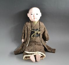 Japanese Meiji antique ICHIMATSU NINGYO Boy gofun Doll craftman 011401 | eBay