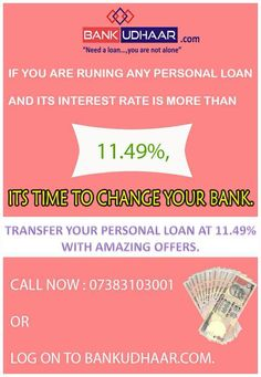 There is no season for a #personalloan! If you are looking for a #personal #loan, then BankUdhaar.com can help you.  Get Personal Loan @ 11.49%  Contact us today: +91 73 8310 3001 >> Visit @ www.bankudhaar.com >> Email : info@BankUdhaar.com