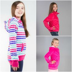 A Minky Hoodie from Triple Flip makes a great gift for tween girls