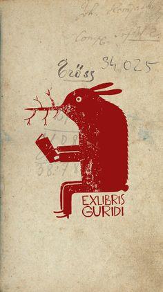 Bookplate for Guridi RN