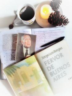 """""""Fervor de BsAs"""" (1923) Primer libro de poemas de Jorge Luis Borges, edición ilustrada por Norah Borges"""