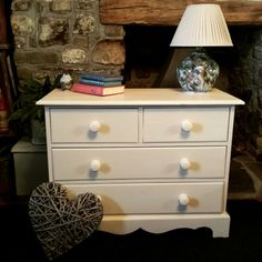 Country style simplicity. This stunning old pine chest of drawers has been painted with Annie Sloan Old Ochre Chalk Paint and clear waxed.  #misselaineous #anniesloan #chalkpaint #morethanpaint #reloved #oldochre #clearwax #simple #rustic #countrystyle #chestofdrawers #pine #charm #ascp #2015 #love