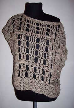 Chaleco Calado - cute popover, no instructions... but would be easy to figure out.