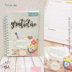 Diário da Gratidão Planner, Office Supplies