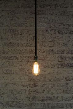 This bare pole pendant light provides a timeless styling with its simple clean lines and matt black finish. The metal ceiling rose compliments the pole pendant perfectly and is available with varying pole lengths to suit a range of ceiling heights. Vintage Industrial Lighting, Industrial Pendant Lights, Kitchen Pendant Lighting, Industrial Style, Metal Ceiling, Ceiling Rose, Ceiling Lights, Light Take, Edison Lighting