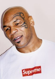 Mike Tyson X Supreme Poster
