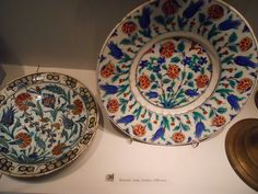 Plates from Iznik by konde, via Flickr