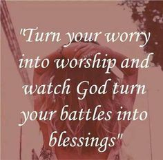 It all starts with Prayer and the sooner the better! Worry not, God is always there for you! www.ChristiansConnectingChristians.com