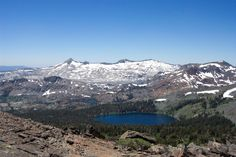 Desolation Wilderness from Mt Tallac