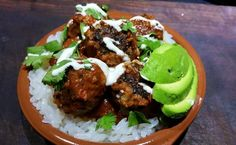 Kerry's Low Carb Mexican Meatballs