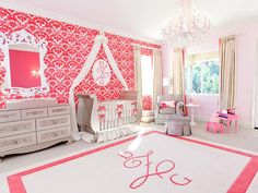 Monograms are a simple way to personalize almost anything!    See more nursery trends in our gallery: http://www.people.com/people/celebritybabies/gallery/0,,20620053,00.html#