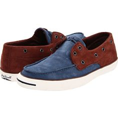 Blue is trending up now and the brown keeps it more laid back. Surprising style from Converse