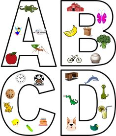 Letter puzzles :) Pictures of words with that initial sound...perfect for an intervention or a workstation.