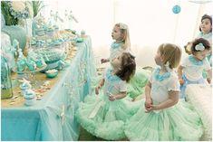 Under the Sea! Sweetest little girl birthday party idea